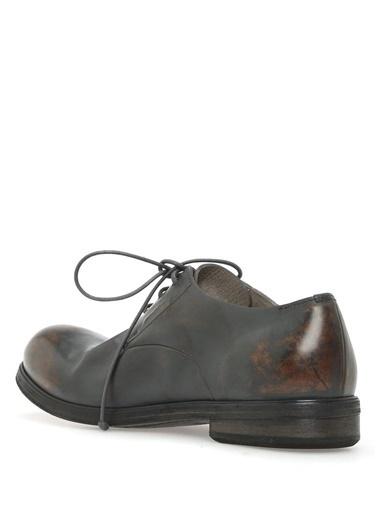 %100 Deri Bağcıklı Ayakkabı-Marsell